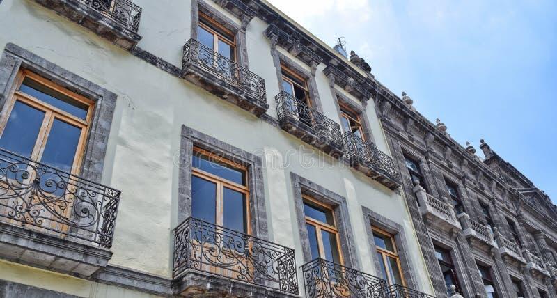 Arquitetura mexicana imagens de stock