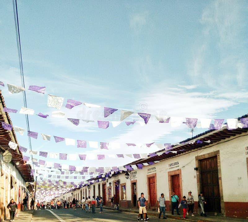 Arquitetura mexicana foto de stock