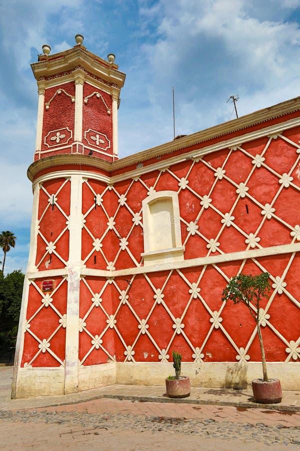 Arquitetura mexicana colonial clássica fotografia de stock royalty free