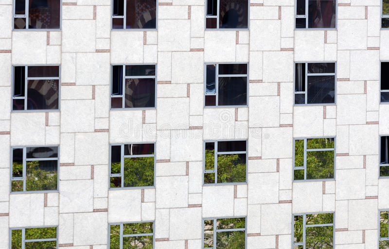 Arquitetura moderna foto de stock