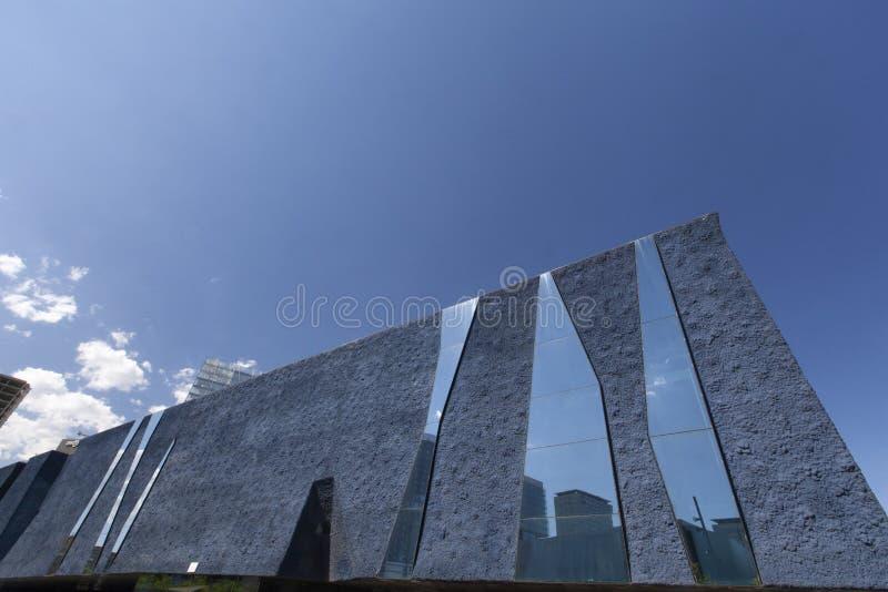 Arquitetura moderna de Barcelona, Museu Blau foto de stock royalty free