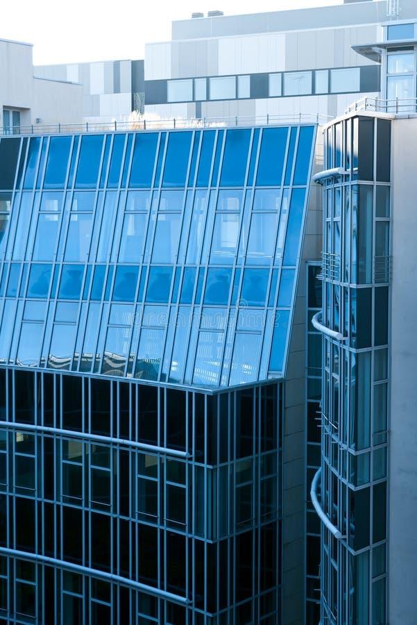 Arquitetura moderna de Berlim fotos de stock