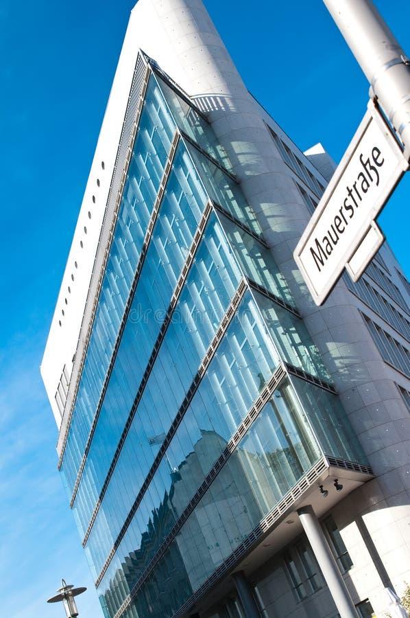Arquitetura moderna de Berlim imagem de stock
