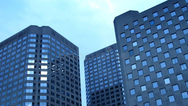 Arquitetura moderna de Montreal fotografia de stock royalty free