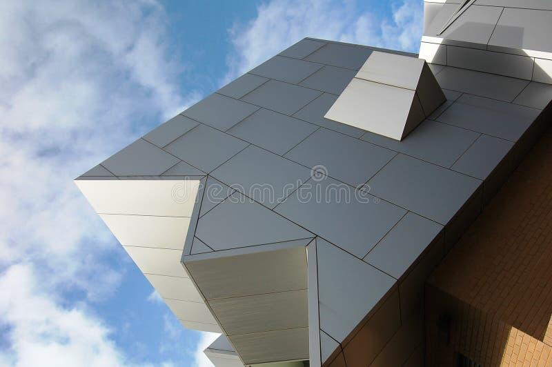 Arquitetura moderna do borne imagens de stock