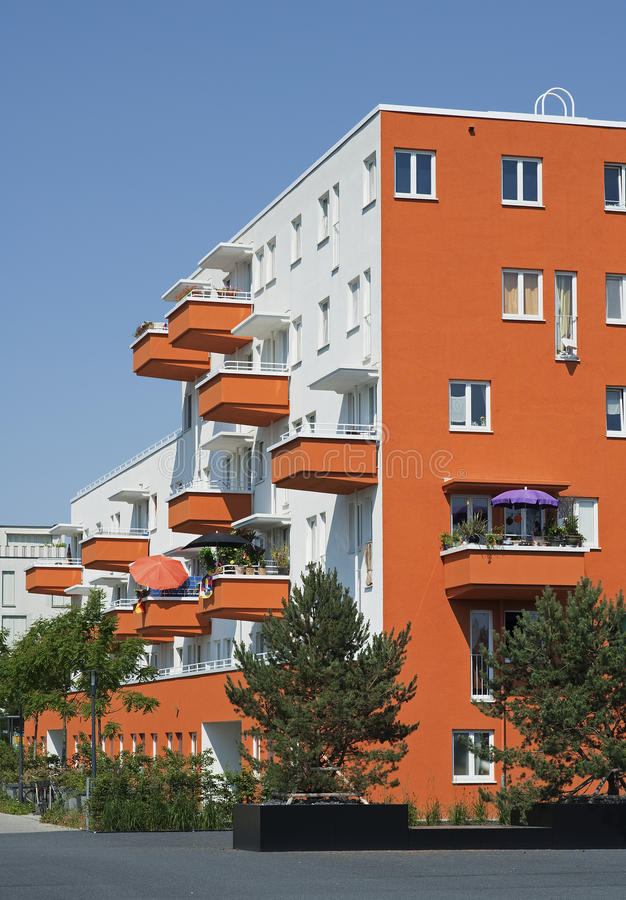 Arquitetura moderna em Alemanha foto de stock