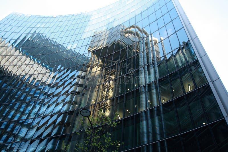 Arquitetura moderna em Europa foto de stock royalty free