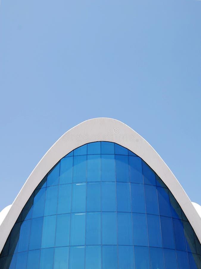 Arquitetura moderna impressionante 5 imagem de stock