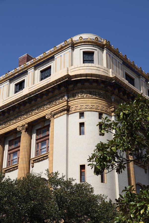 Arquitetura no savana GA foto de stock