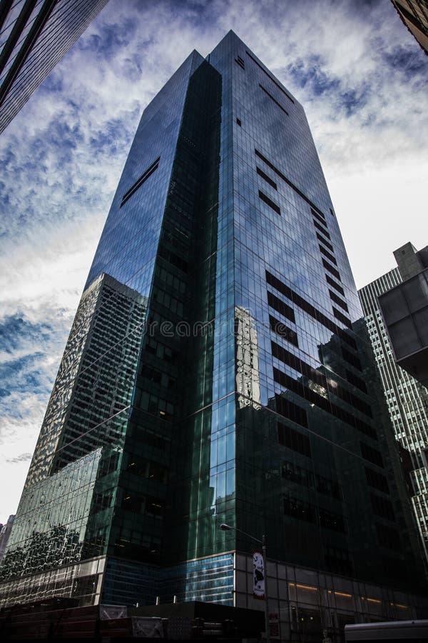 Arquitetura no Times Square foto de stock