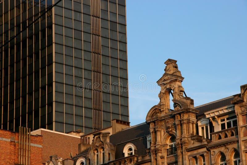 Arquitetura nova e velha fotos de stock royalty free