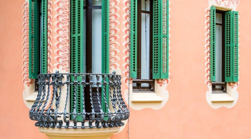 Arquitetura por Antonio Gaudi fotografia de stock royalty free