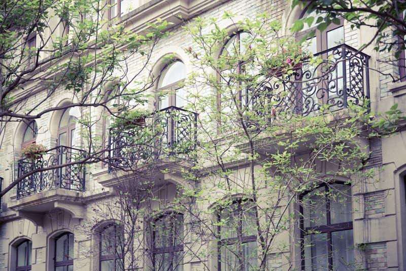 Arquitetura portuguesa retro imagem de stock royalty free