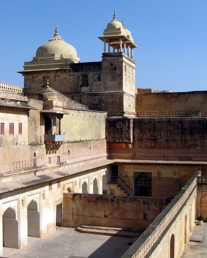 Arquitetura Rajput da Índia imagem de stock