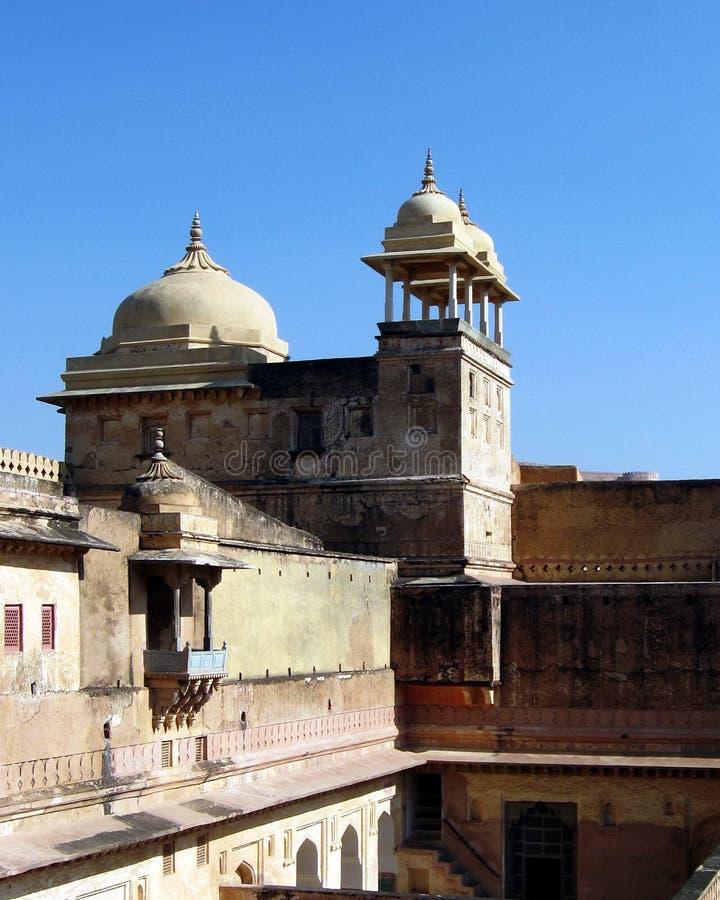 Arquitetura Rajput da Índia foto de stock royalty free