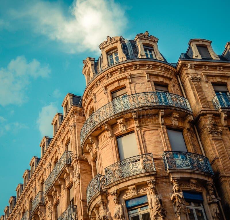 Arquitetura residencial francesa foto de stock royalty free