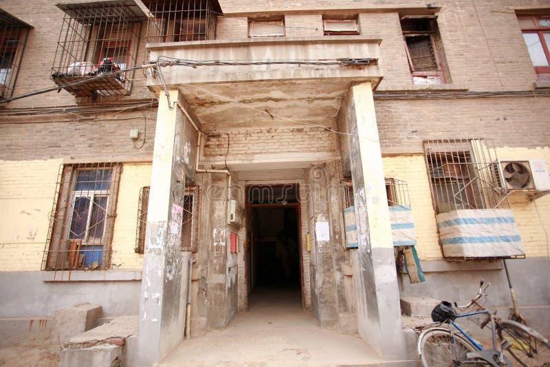 A arquitetura soviética do estilo na cidade de Zhengzhou imagens de stock royalty free