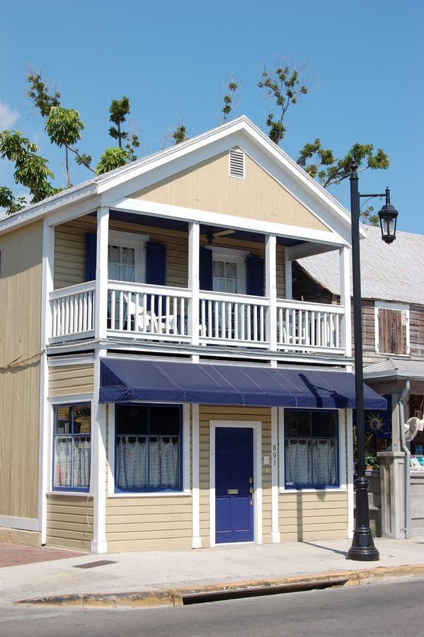 Arquitetura típica de Key West fotos de stock royalty free