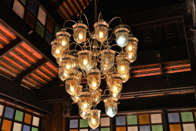 Arquitetura tailandesa imagens de stock