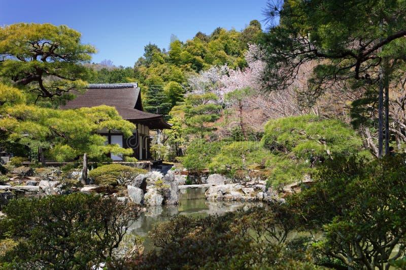 Arquitetura tradicional de Japão foto de stock royalty free