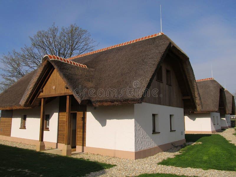 Arquitetura tradicional, Prekmurje, Eslovênia fotografia de stock royalty free