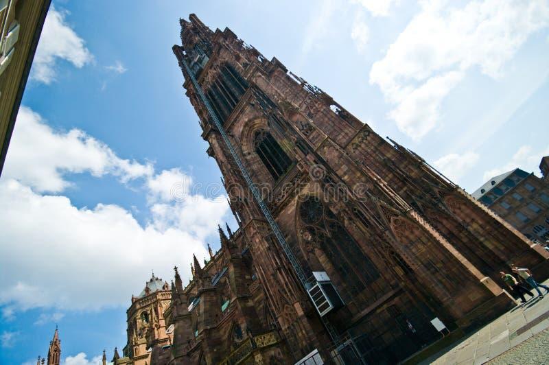 Arquitetura urbana de França Strasborg no verão imagens de stock royalty free