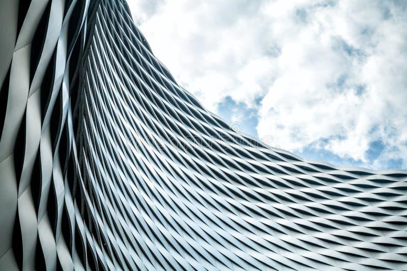 Arquitetura urbana moderna imagens de stock royalty free