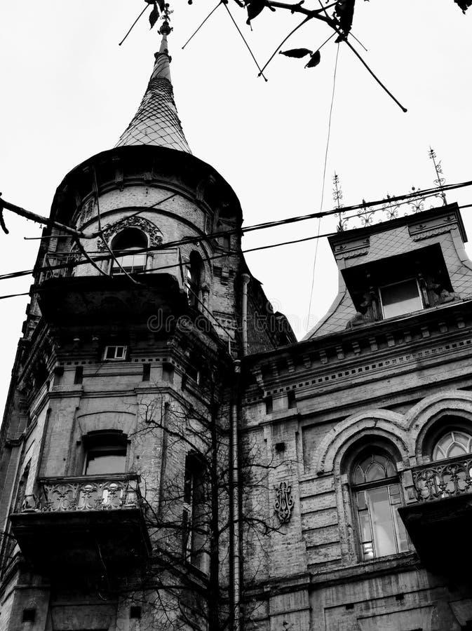 Arquitetura velha de Kiev foto de stock