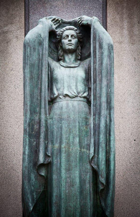 Arquiteturas do cemitério - Europa foto de stock