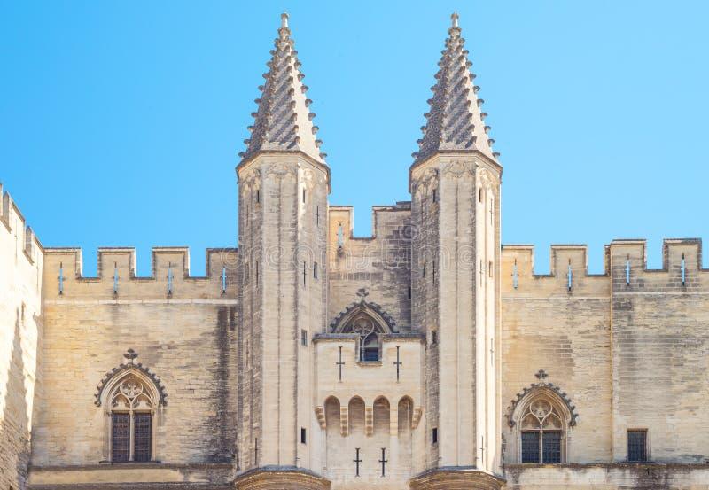 Arquiteturas e monumentos de Avignon imagem de stock royalty free