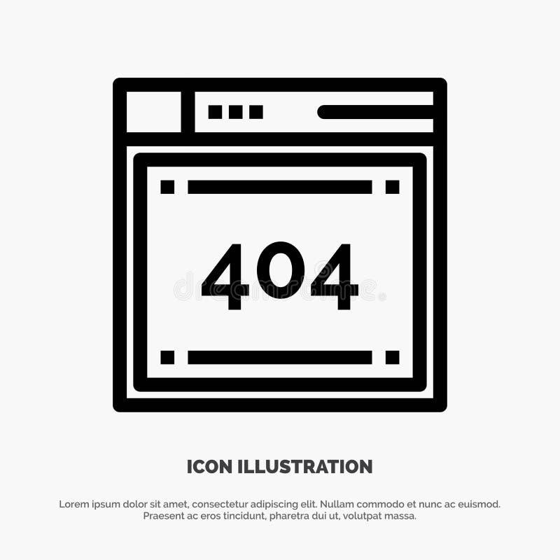 Arquivo, computando, código, codificando a linha ícone do vetor ilustração stock