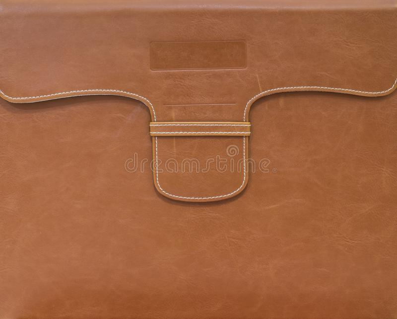 Arquivo do marrom do close up para o fundo do papel do documento imagem de stock