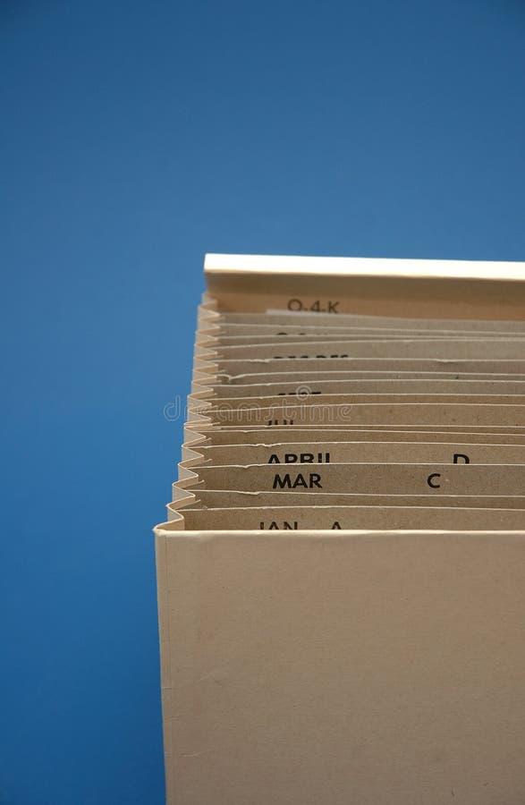 Arquivo do orçamento do imposto fotos de stock royalty free