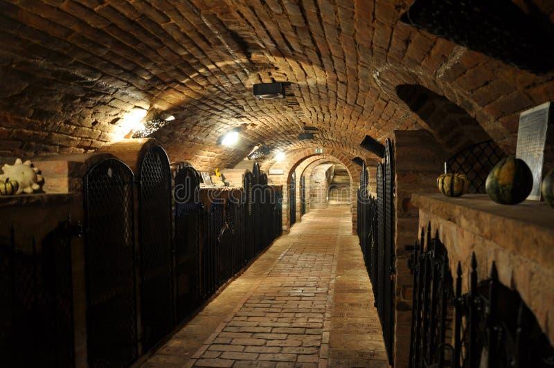 Arquivo do vinho imagens de stock royalty free