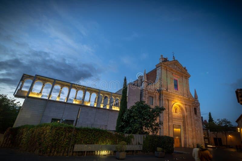 Arquivo municipal de Valladolid imagem de stock royalty free