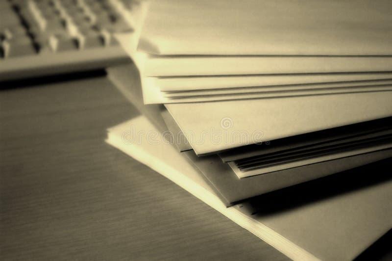 Download Arquivos foto de stock. Imagem de escritório, arquivos, teclado - 60936
