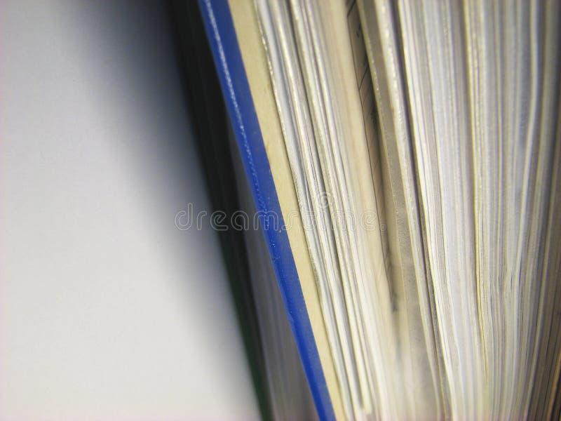 Arquivos do escritório imagens de stock