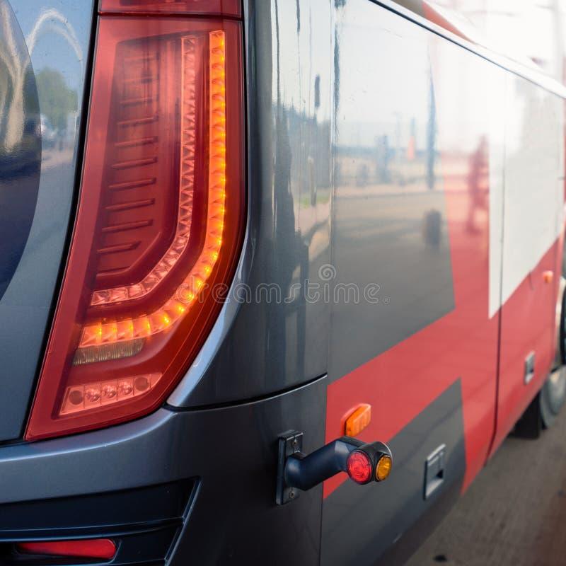 Arrêt de bus public image libre de droits