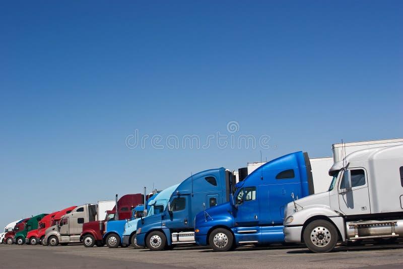 Arrêt de camion photos stock