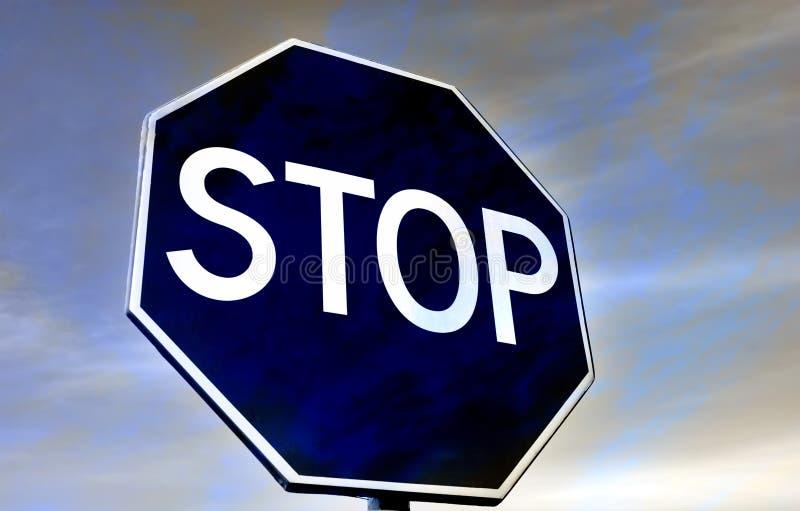 Arrêtez images stock