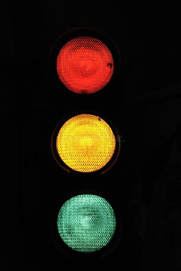 Arrêtez la lumière 2 photos stock