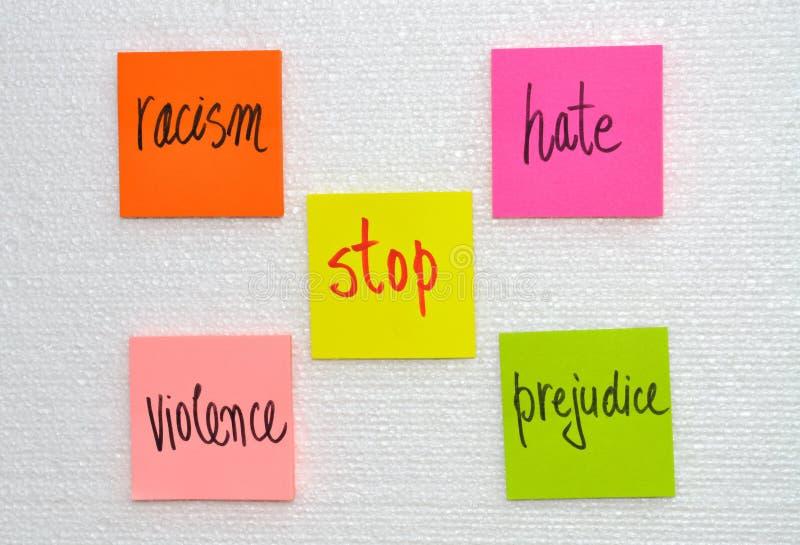 Arrêtez la violence images libres de droits