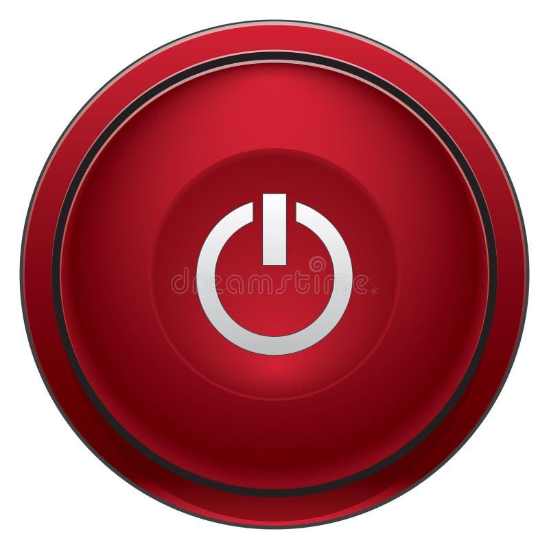 Arrêtez le bouton illustration libre de droits