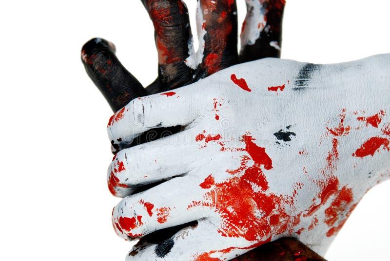 Arrêtez le crime photographie stock
