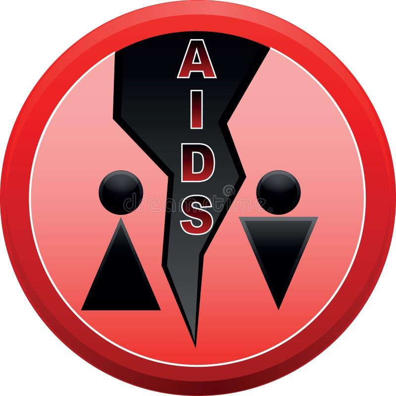 Arrêtez le SIDA. illustration stock