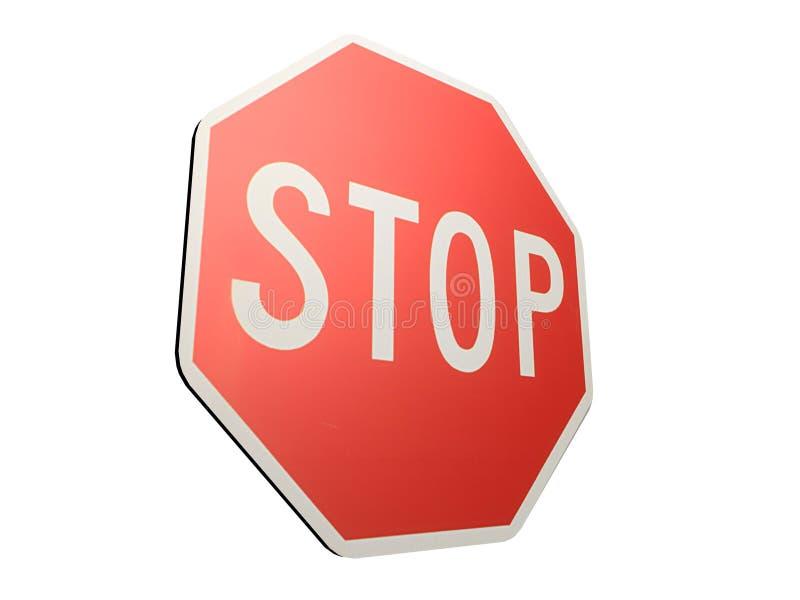 Arrêtez le signe illustration stock