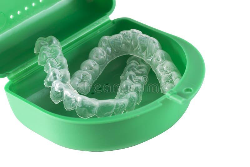 Arrêtoirs orthodontiques image libre de droits