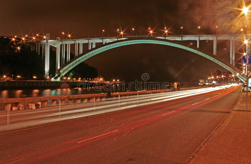 Arrabida bro arkivbilder