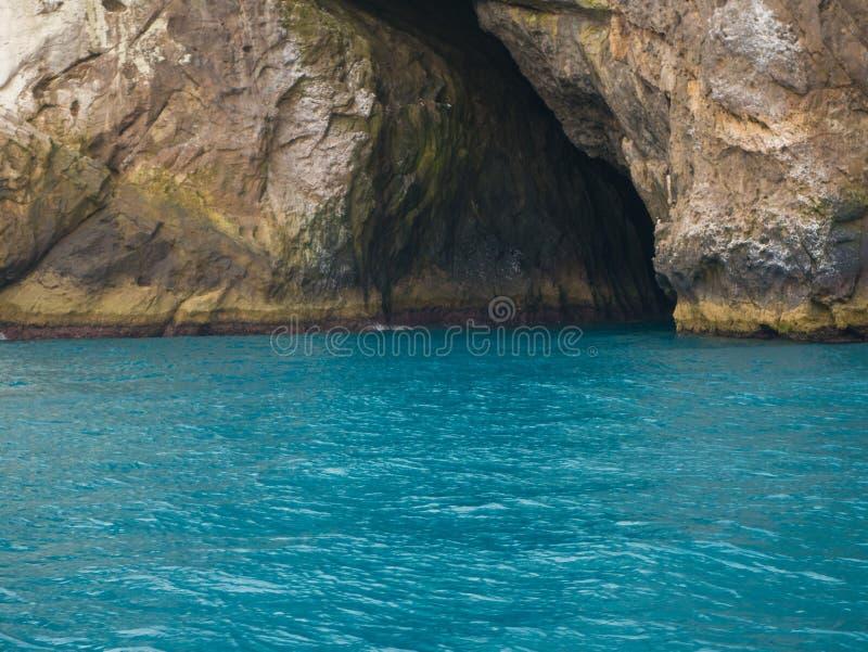 Arraial do Cabo, Blauwe Grot stock fotografie