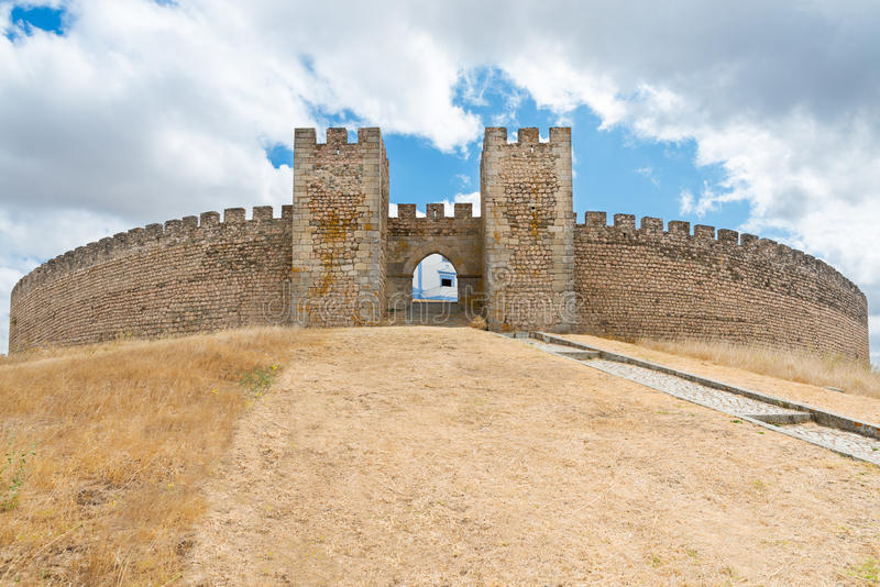 Arraiolos城堡  图库摄影